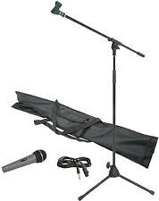 Professional Beginners Microphone & Mic Stand Kit With Carry Bag Christmas Gift