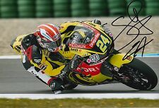 Simone Corsi Hand Signed 12x8 Photo Speed Up Racing 2016 Moto2 MOTOGP 1.