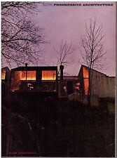 rivista - PROGRESSIVE ARCHITECTURE ANNO 1968 NUMERO 5