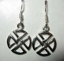 Sterling silver Celtic design earrings earrings