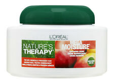 LOREAL NATURE'S THERAPY MEGA MOISTURE NURTURING HAIR CREME CREAM  1 CASE - 6PCS