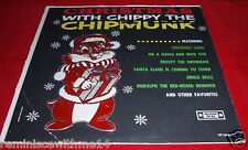 UNIQUE LP - CHRISTMAS WITH THE CHIPPY THE CHIPMUNK - SILVER SEAL LABEL UT/S-1006