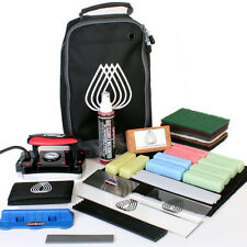 Ski-Snowboard-Tuning Huge Service Kit Iron HP Wax Edge Sharpener Kit Bag So Much