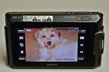 Black Sony Cyber-shot DSC-T77 10.1 MP Digital Camera - TAKES GREAT PICTURES