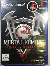 Mortal Kombat: Deadly Alliance ps2 nuovo sigillato prima release rare