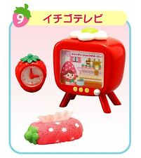 "Re-Ment ""Strawberry World"" #9, Television Box,1:6 minis Barbie dollhouse scale"