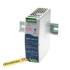 MEAN WELL [PowerNex] NEW SDR-120-12 12V 10A Single Output Power Supply 120W