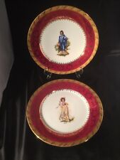 Porcelaine de Limoges France Plates