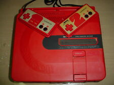 Famicom Twin console system AN-500R disk disc system NES Sharp working GOOD