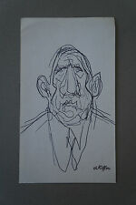 CHARLES KIFFER (1902-1992)  -  CARICATURE CHARLES DE GAULLE  - Cachet