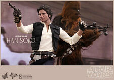 Hot Toys Star Wars Han Solo & Chewbacca 1/6 Figure Episode IV Sideshow MMS263
