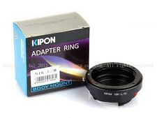 Kipon adapter for Nikon F to Leica M M240 M9-P Ricoh M mount RF uncoupled