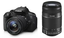 CANON EOS 700D DSLR CAMERA WITH 18-55MM IS II+55-250MM IS II-DUAL LENS KIT !!