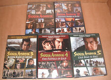 Shogun Assassin: Vol. 1,2,3,4,5 Complete Collection NEW R1 DVD