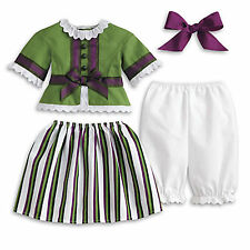 """American Girl Marie Grace Striped Party Outfit-Brand NEW for 18"""" Dolls"""