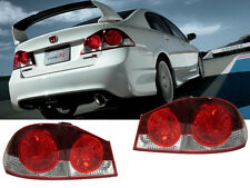 DEPO 06-11 Honda Civic 4DR CSX FD FD2 Type-R JDM / Euro Conversion Tail Lights