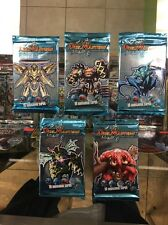 Duel Masters DM-01 Base (5 Booster Pack Set) New Factory Sealed