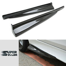 CARBON FIBER BMW 5-SERIES E60 M5 DTO TYPE SIDE SKIRTS BODY KITS 04+
