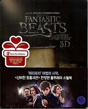 Fantastic Beast and Where to Find Them Limited Edition SteelBook 1/4 Slip Korea