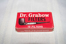 Dr Grabow Tobacco Pipe Filters Single Pack Red Box 10 Filters