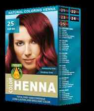 Henna Natural Hair Dye Powder Hair Color Toner for man and woman Fiery red