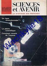 Science et avenir n°232 du 06/1966 Laser Pêche Espace Lune Paysans