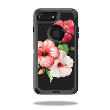Skin Decal Wrap for OtterBox Defender iPhone 7 Plus Case Hibiscus