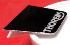 THORENS logo per TP 60 HEAD SHELL-TP 16 BRACCIO, fai da te, nero, alluminio, NUOVO