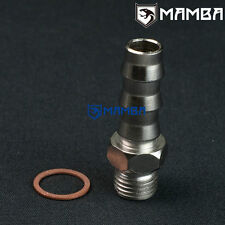 "Turbo water adapter barb fitting Kit M14x1.5 to 1/2"" Barb TD05H GT28R (1 Set)"