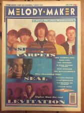 Melody Maker 27/04/91 Inspiral Carpets/Seal/Levitation cover, This Mortal Coil