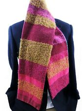 Avoca Scarf Mohair Chenille Wool & Silk - Exquisite quality Silk lining