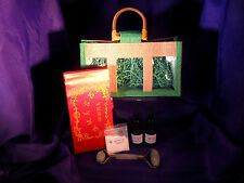 APO035 Feng Shui Green Jade Face Massager/Roller Lactic/Salicylic Acid Kit
