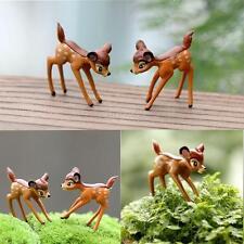Disney Deer Garden Bonsai Ornament  Miniature Figurine Dollhouse Plant craft