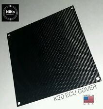 ECU CARBON FIBER GLOSSY LID COVER ACURA RSX K-SERIES ECU & 02-05 CIVIC SI EP3