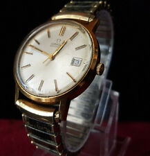 Genuine Vintage Men's Omega Automatic Watch Features 17 Jewel.