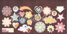 Adesivi Hog Heaven della Sassafras Lass cuori frecce etichette stelle Stickers