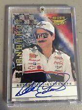 Dale Earnhardt Sr. 1999 High Gear wheels cert. authentic autographed auto card
