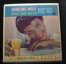 Howling Wolf - Sings The Blues LP VG CLP 5240 Crown 1st 1962 USA Vinyl Record