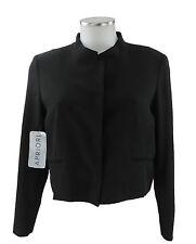 Apriori Blazer 38 schwarz kurz Bolero kurze Jacke Sakko Polyester neu m. Etikett