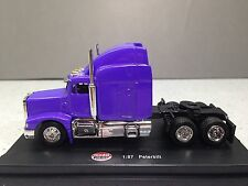 HO 1/87 Model Power # 20102 Peterbilt Tractor - Purple