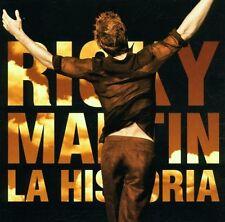 RICKY MARTIN - LA HISTORIA  CD NEU