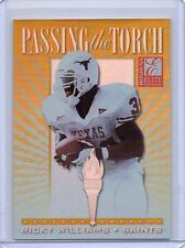 RICKY WILLIAMS Saints / Texas 1999 Donruss Elite Passing The Torch /1500 Rookie