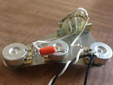 Upgrade Wiring Harness for Fender Stratocaster 250k CTS Pots 3 Way CRL Switch