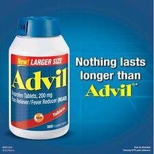 Advil  Ibuprofen Tablets 200 mg Pain Reliever , Fever Reducer, 360 Coated, 2018