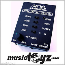ADA GCS-2 Guitar Cabinet Simulator & DI Box - NEW/Auth - FREE ship/gift