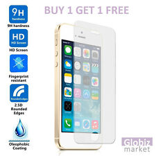 NEW Genuine Tempered Glass Film Soft Touch Screen Protector For Apple iPhone SE
