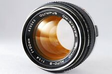 Olympus OM-System G.Zuiko Auto-S 50mm f/1.4 OM Mount Made in Japan #T313