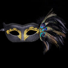 1X Ladies Peacock Eye Face Mask Masquerade Party Ball Prom Halloween Costume DIY