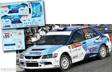 Decal 1:43 Ricardo Moura - MITSUBISHI LANCER EVO IX - Rally Portugal 2012
