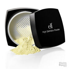 New E.L.F. Studio High Definition Powder Yellow ELF Foundation Cosmetic Makeup